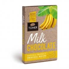 TOMER Молочный шоколад с бананом