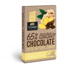 TOMER Горький шоколад с имбирем