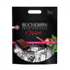 BUCHERON горький MINI с фундуком, мятой и кайенским перцем