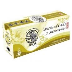 """Зеленый Жасминовый чай """"Черный дракон"""" (пакетированный)"""