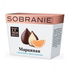 SOBRANIE Марципан в горьком шоколаде с апельсином