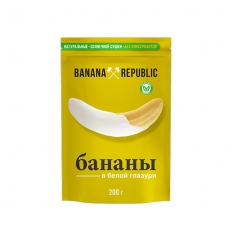 Бананы в белой глазури