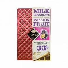 TOMER Молочный шоколад с маракуйей 33%